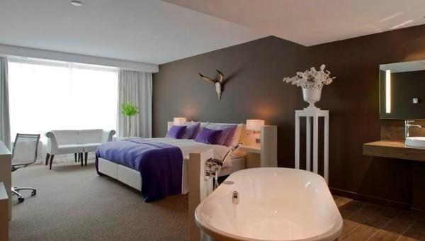 Comfort kamer met bad douche van der valk hotel apeldoorn