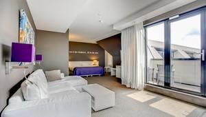 Comfort deluxe suite | open badkamer | Van der Valk Hotel Apeldoorn ...